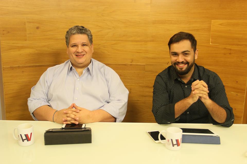 Correa Neves Junior e Leandro Vaz Foto Reproducao Facebook