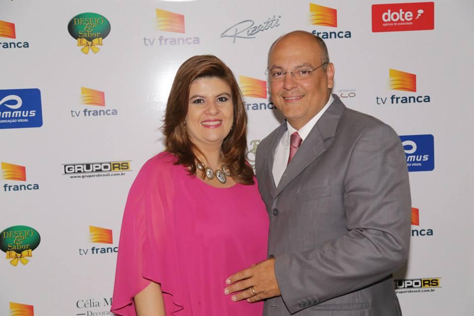 Cynthia Milhim Ferreira e Alexandre Ferreira