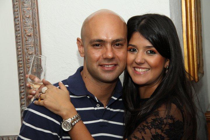 Gustavo Costa e Marina Bittar