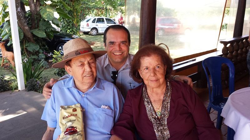 Pelegrino Anderson e Luiza Trajano Donato