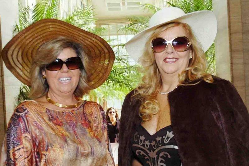 Cristina Haddad e Renata Rezende