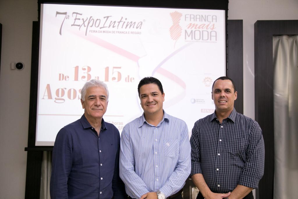 Dorival Mourão Filho, Deyvid Silveira e Rogério Volpini