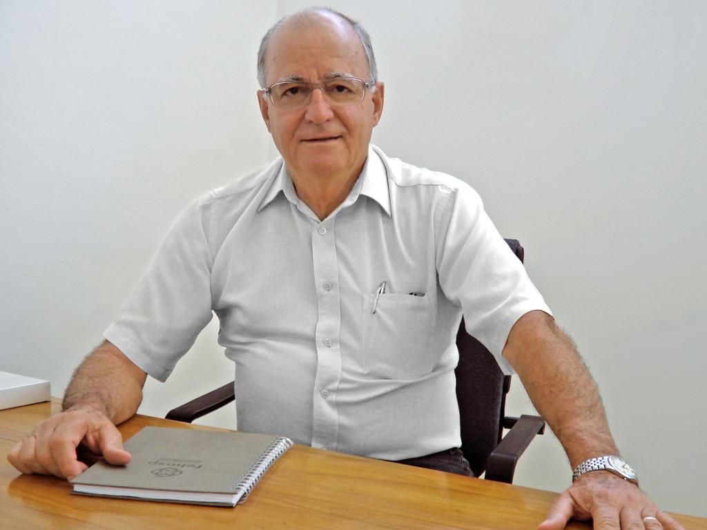 José candido Chimionato - presidente voluntário