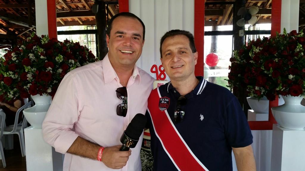 Anderson Pinheiro e Chafi Facuri Neto