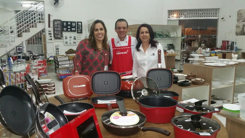 Maria Paula, Chef Boal e Sueli Sartori