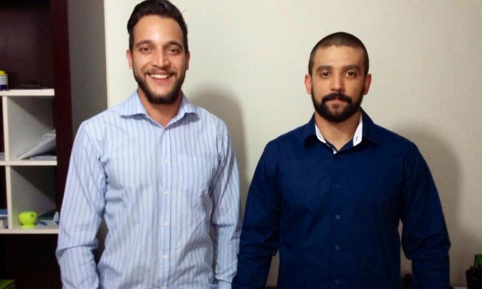 Ranieri Melo e Arthur Carreira