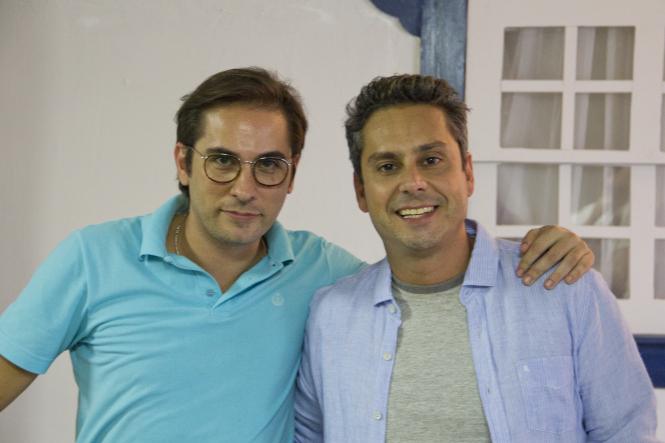 Thiago Patrocinio e Alexandre Nero Foto Divulgacao