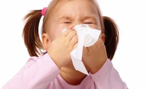criança gripe inverno