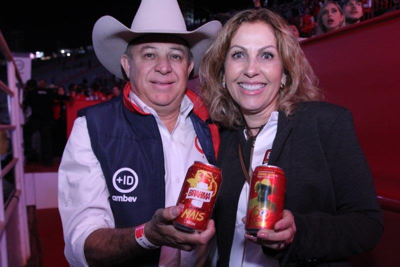 Jerominho e Laura Muzetti _CREDITO WALTINHO SILVA