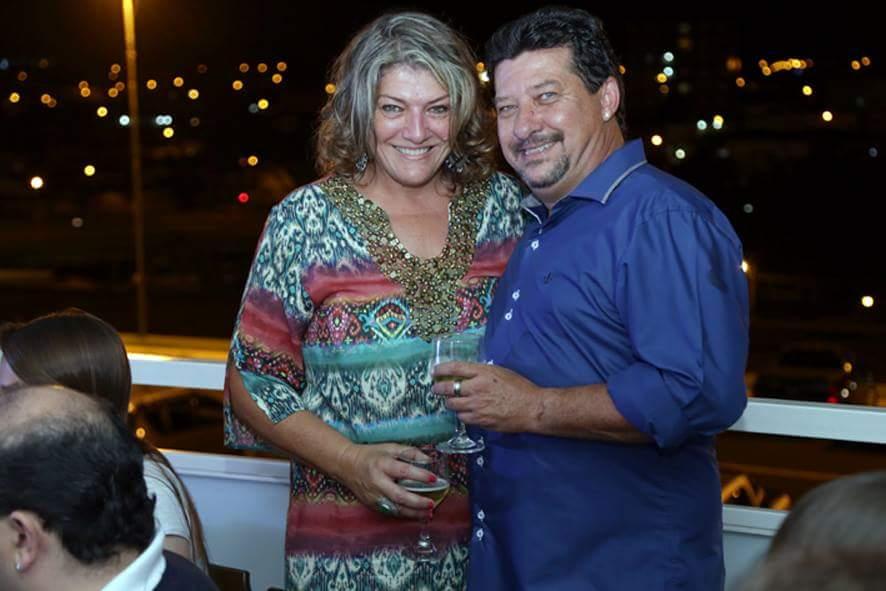 Rita Rossato e Claudinei Jacobini