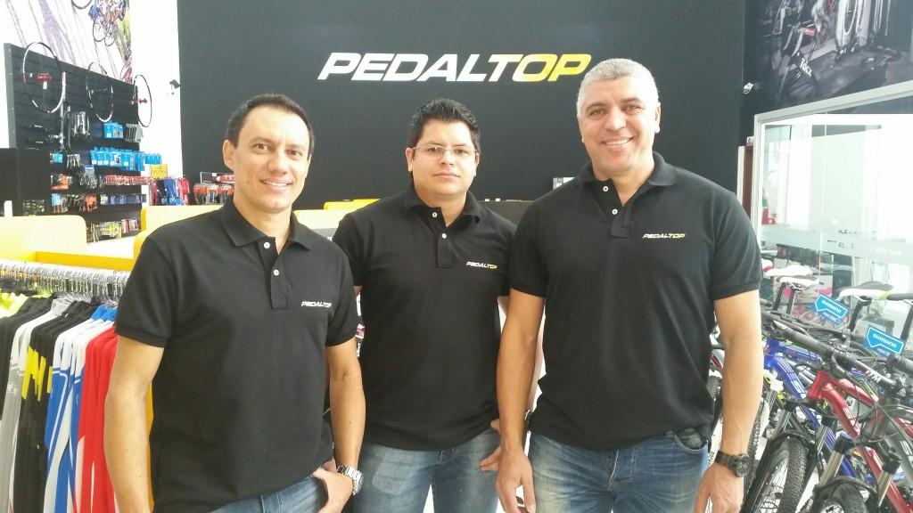 Wendel Nunes, Diego Silveira e Edmilson Lima