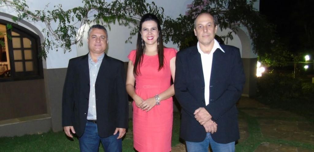 Luís Henrique Duarte, Fernanda Figueiredo e José Maurício Maníglia