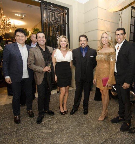 Cesar Filho, Fábio Arruda, Silvia Vinhas, NoRberto Busto, Hortencia MArcari e Cris Diniz,
