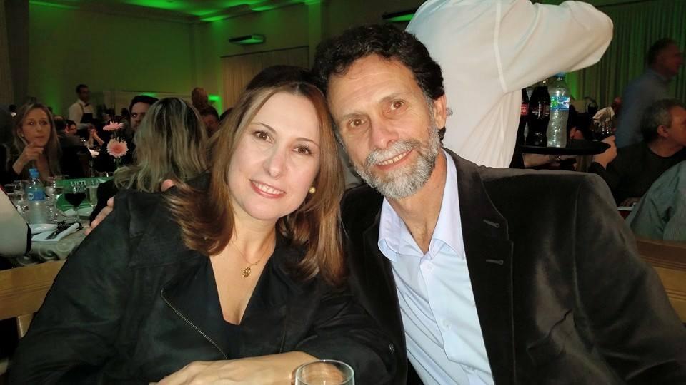 Adriane Micheletti e Agenor Gado