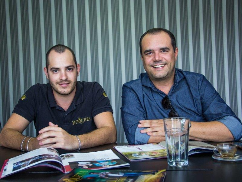 Danilo Hannouche e Anderson Pinheiro