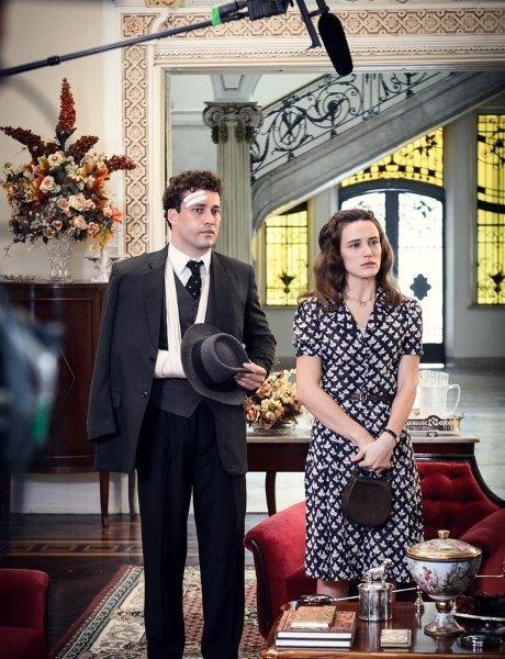 Maria vai ficar grávida e perderá o noivo logo nos primeiros capítulos Foto Ramôn Vasconcelos TV Globo