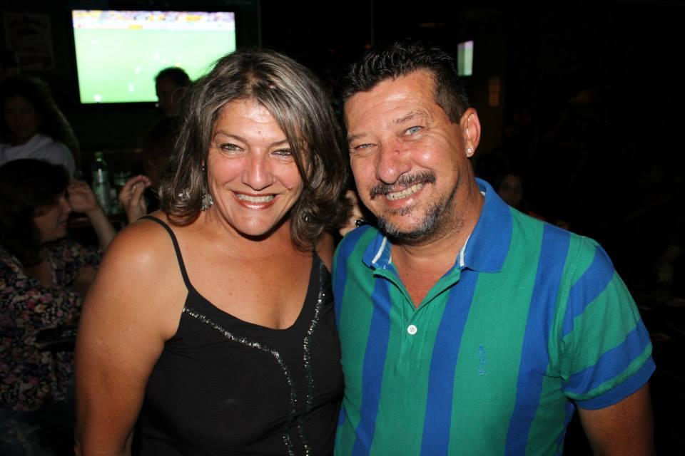 Rita Rossato e Claudiney Jacobini