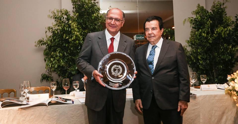 Alckmin e Fabio Meirelles