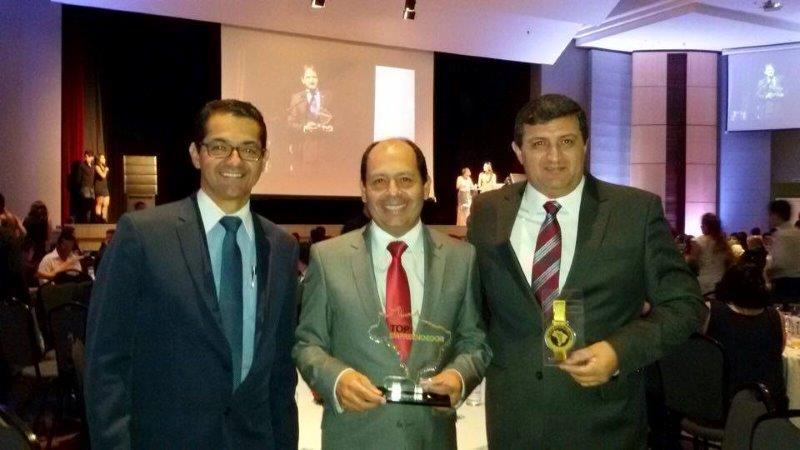 Empresários francanos recebem Prêmio Top Empreendedor em São Paulo