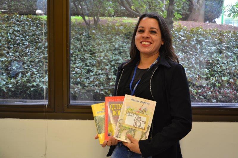 Fernanda Ferro Senac Biblioteca