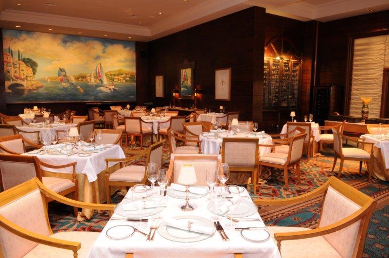 Restaurante St. Tropez - Enjoy Conrad