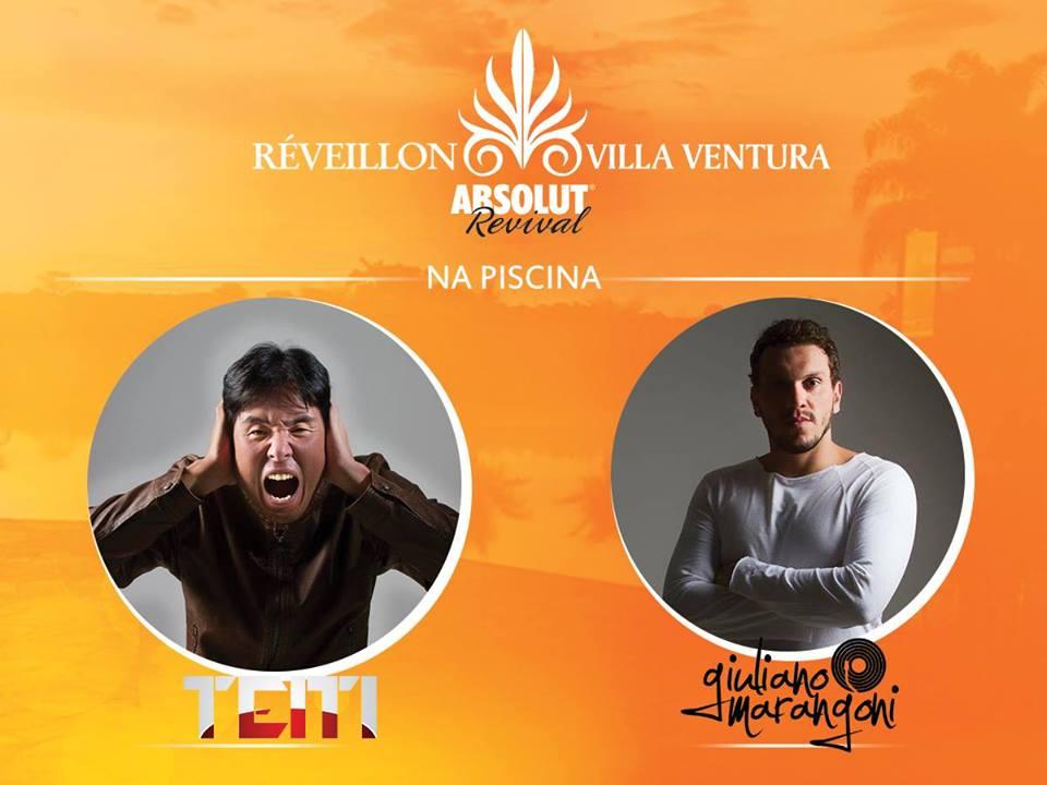 Reveillon 2016 DJs