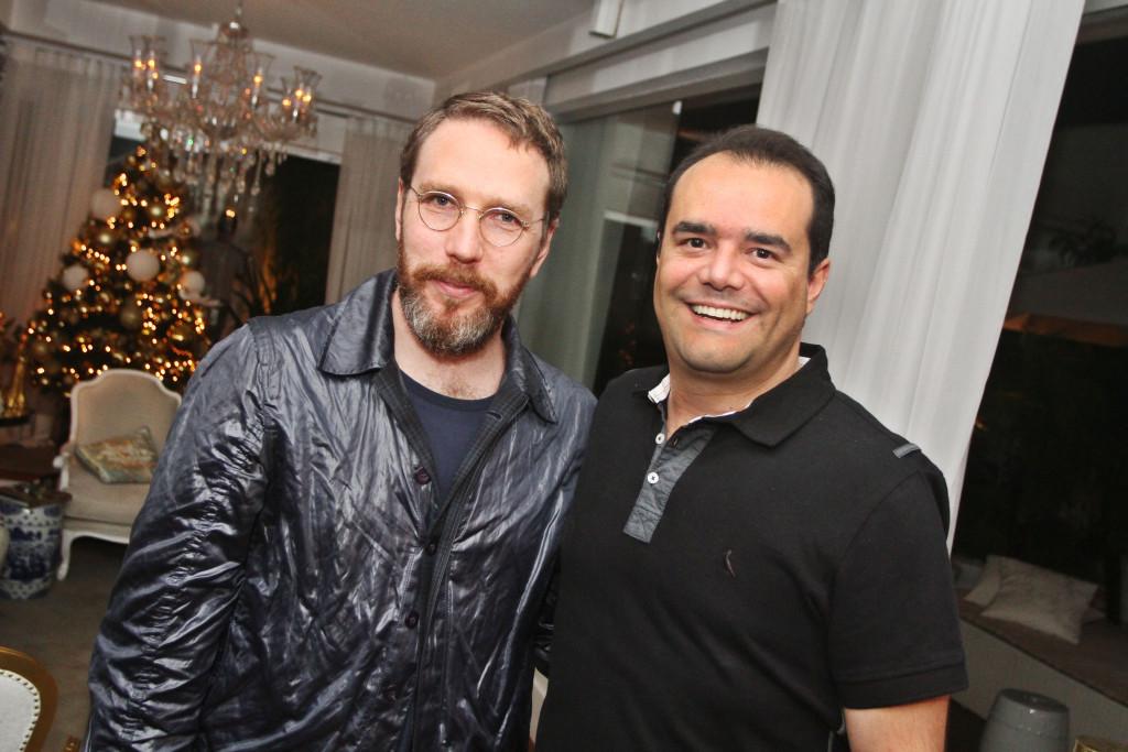 alexandre herchcovitch e Anderson Pinheiro