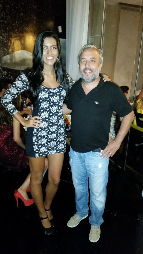 Giovanna Poppi e Luciano Carvalho