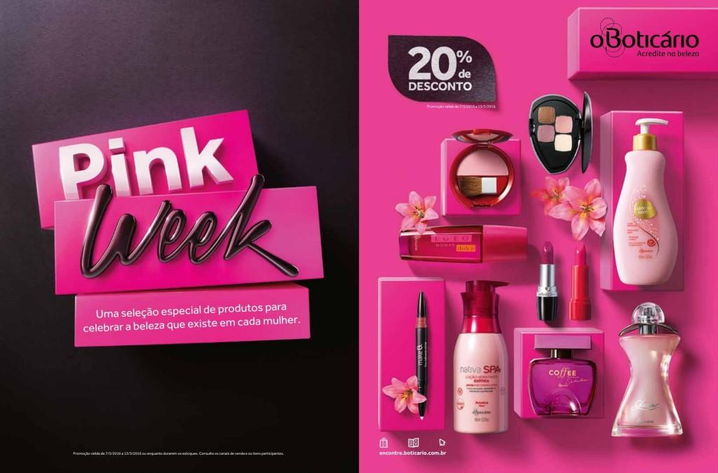 pink week boticario