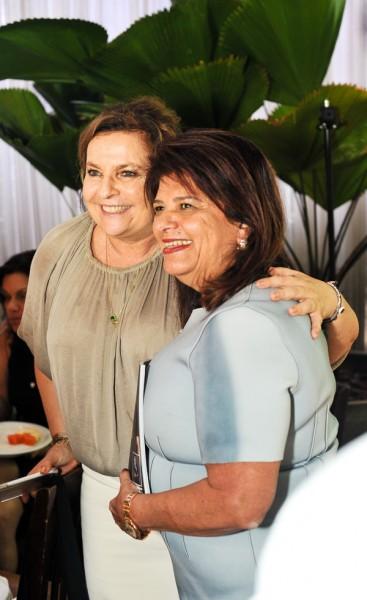 Joyce Pascowitch e Luiza Helena Trajano