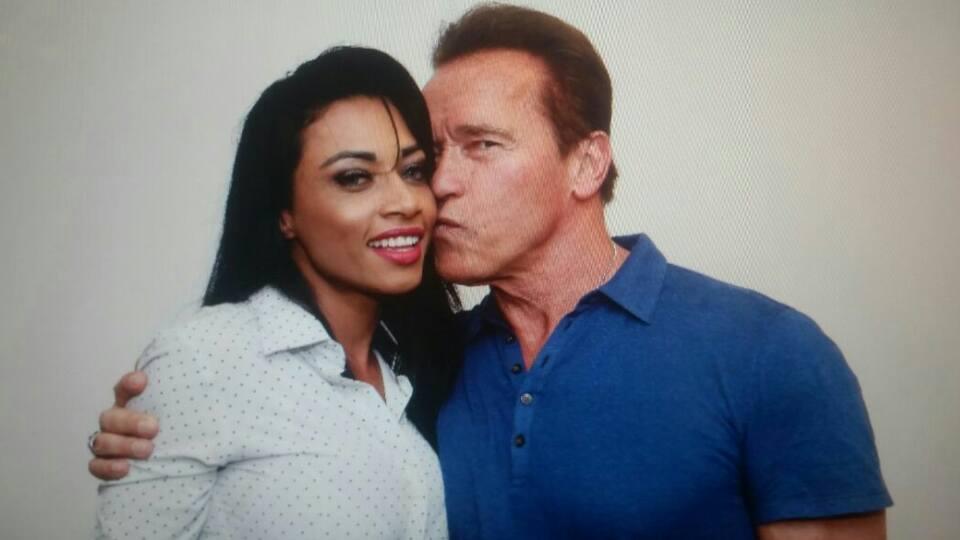 Marcela e Arnold Schwarzenegger