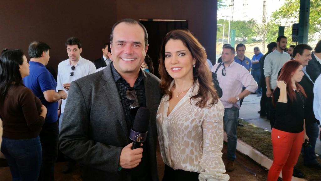 Anderson Pinheiro e Dulce Neves