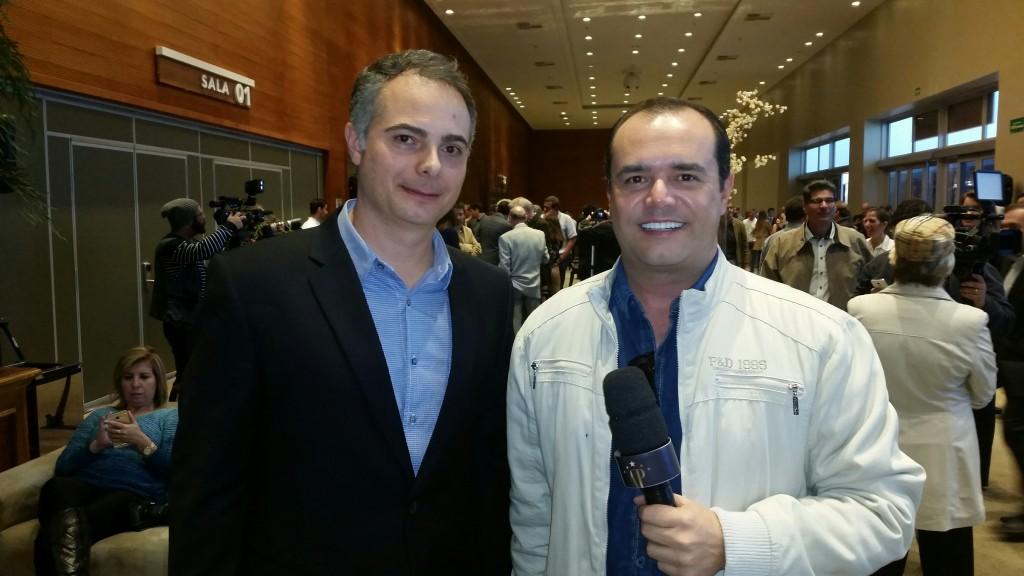 Felix Diez e Anderson Pinheiro