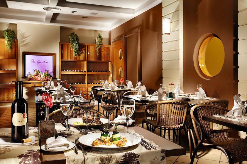 Restaurante The Garden