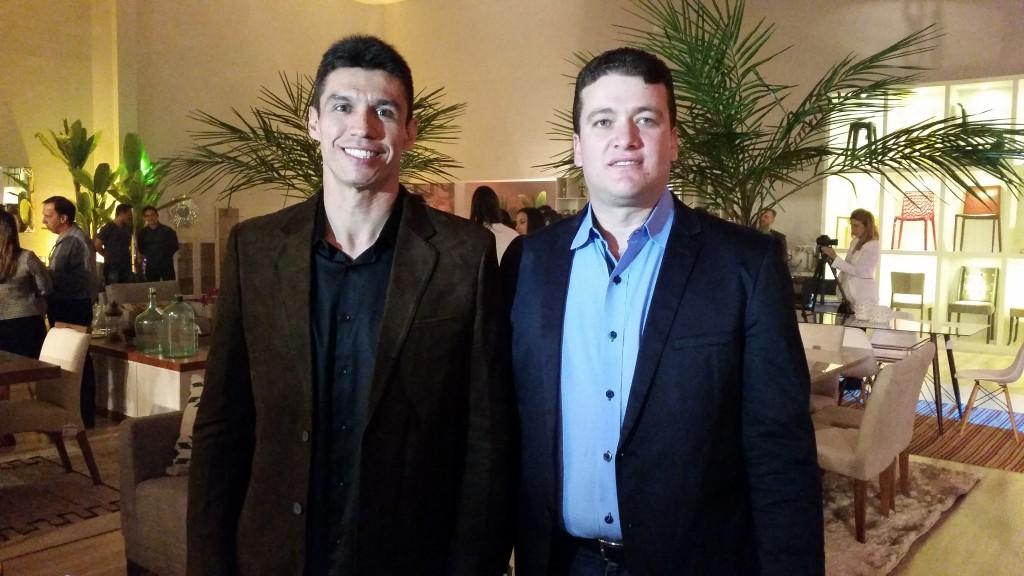 Admar Peixoto e Flávio Pacheco