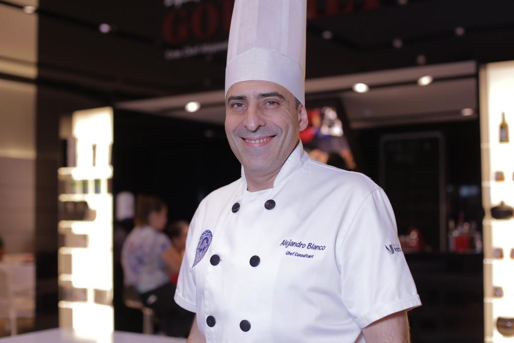 Chef Alejandro Blanco