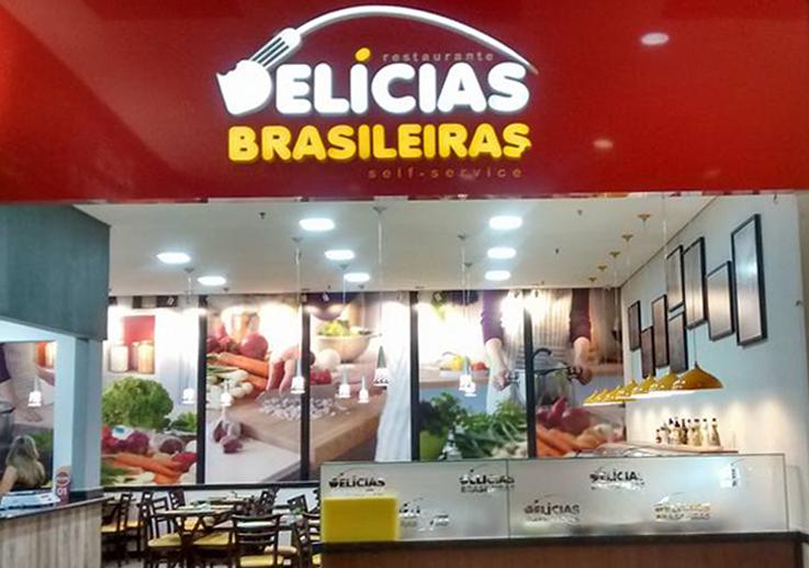 Delicias Brasileiras Fachada