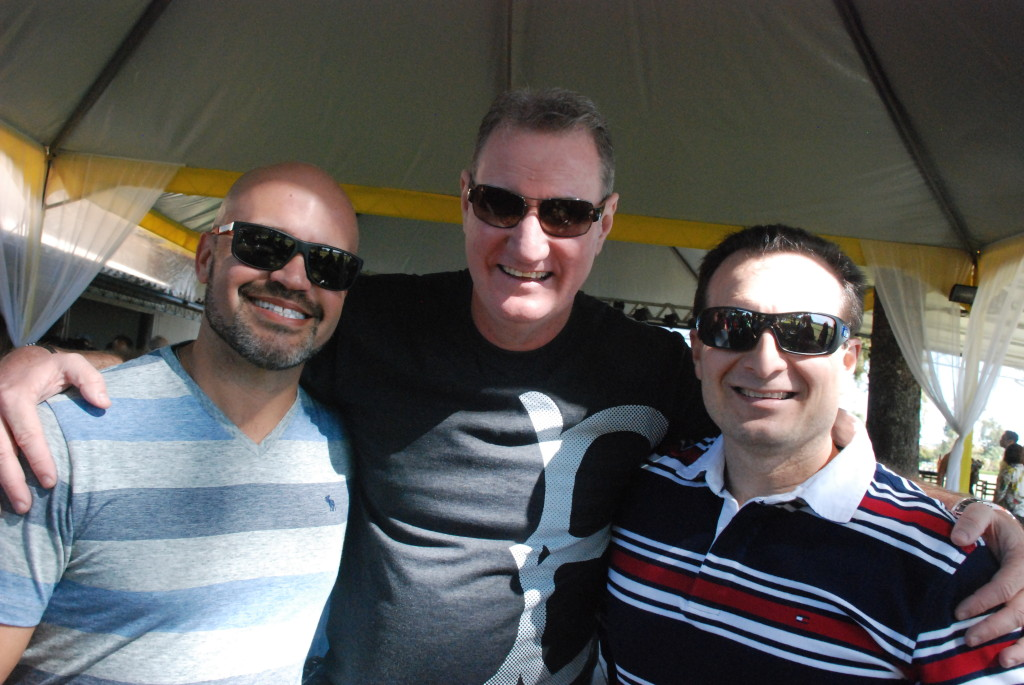 Marcelo Cruz, Sylvio Leite e Chafi Facuri Neto