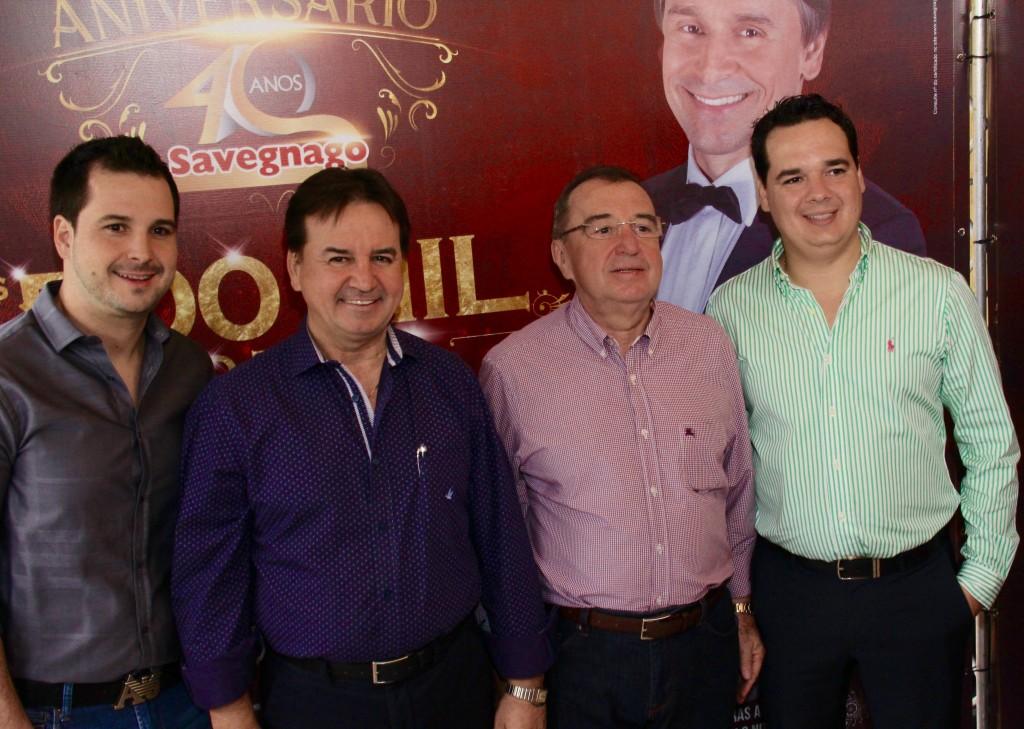 Murilo Chalim Toninho e Rodolfo Savegnago