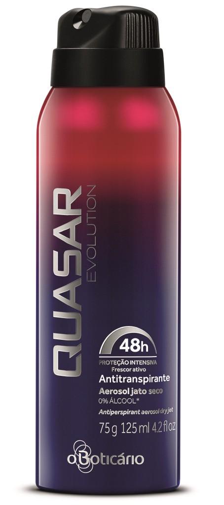 Quasar Evolution Antitranspirante 2