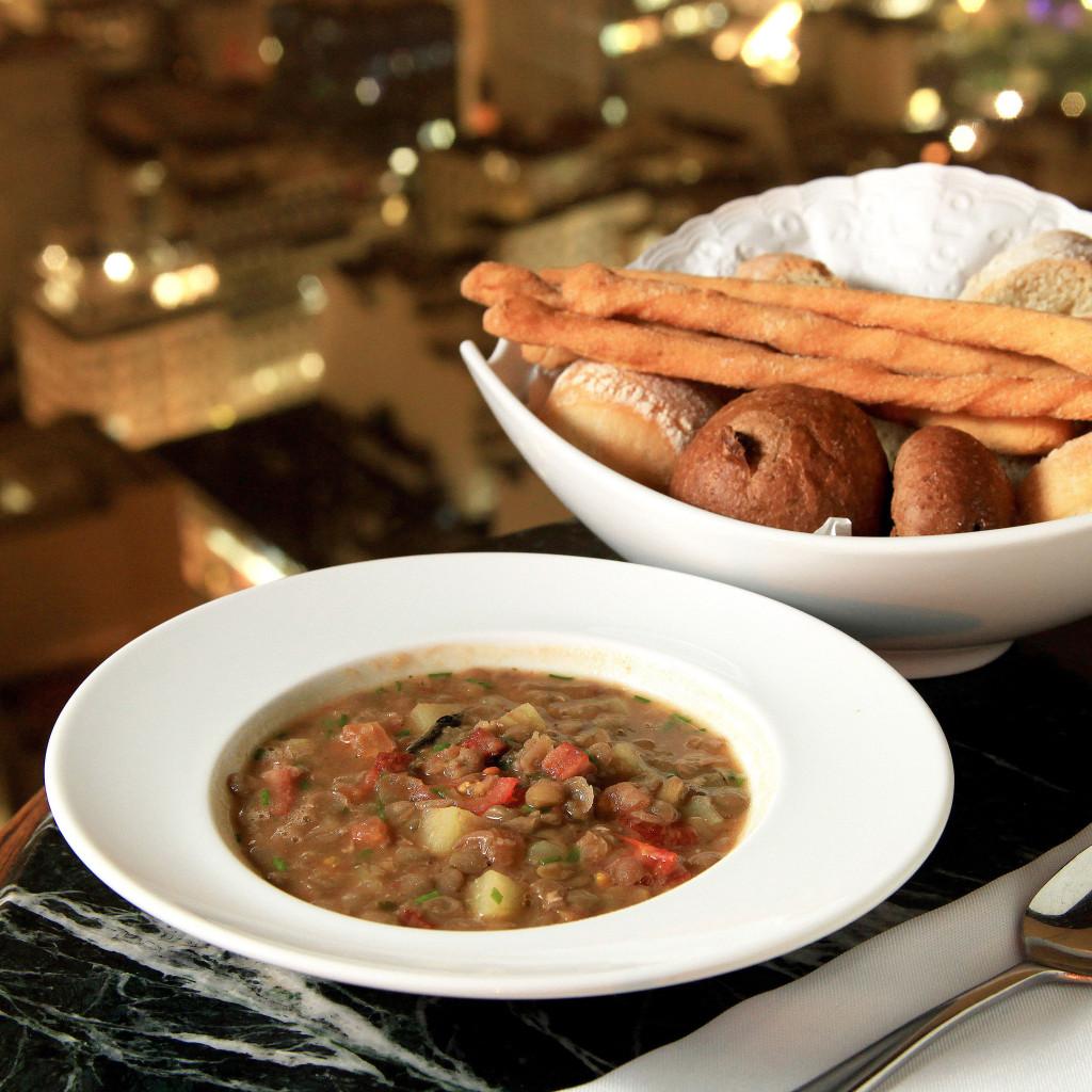 Sopa de Batata Doce com lentilha 01