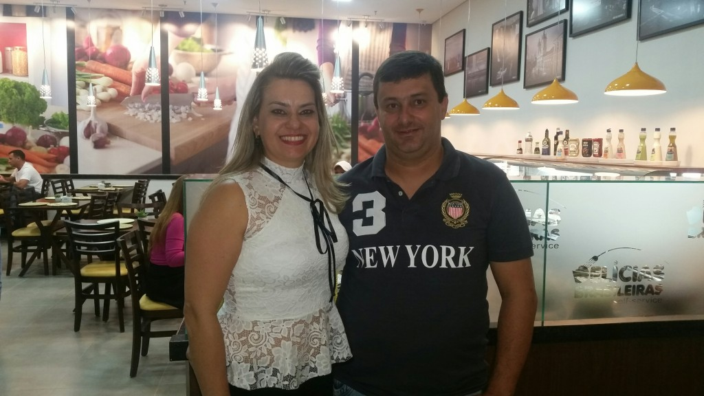 Téria Ronca e Adriano Cassimiro