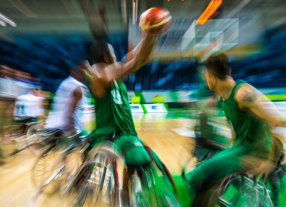 Basquete em cadeira de rodas