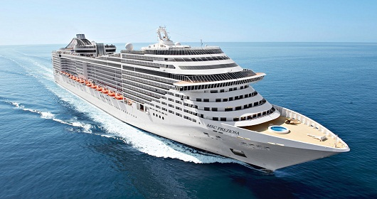 The MSC Preziosa, the upcoming admiral ship of MSC Cruises, will take to the sea in March, boasting the longest water slide ever built on boat.
