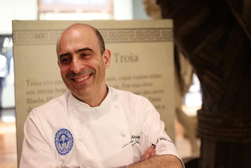 O chef Alejandro Blanco assinou o coquetel
