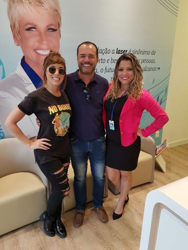 Dj Aline Rocha, Anderson Pinheiro e Elisiana Souza