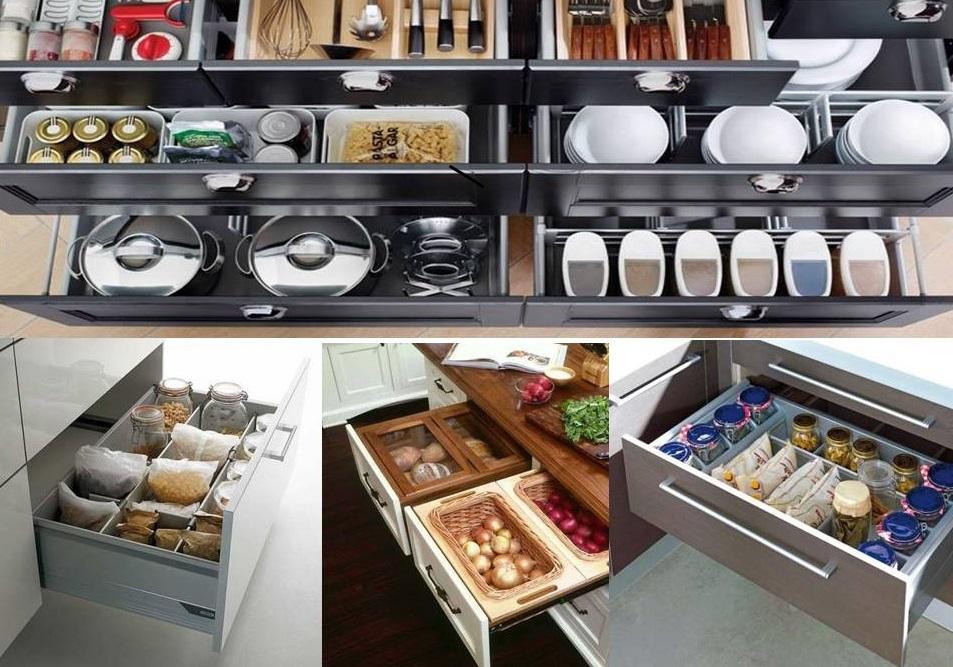 gavetas cozinha