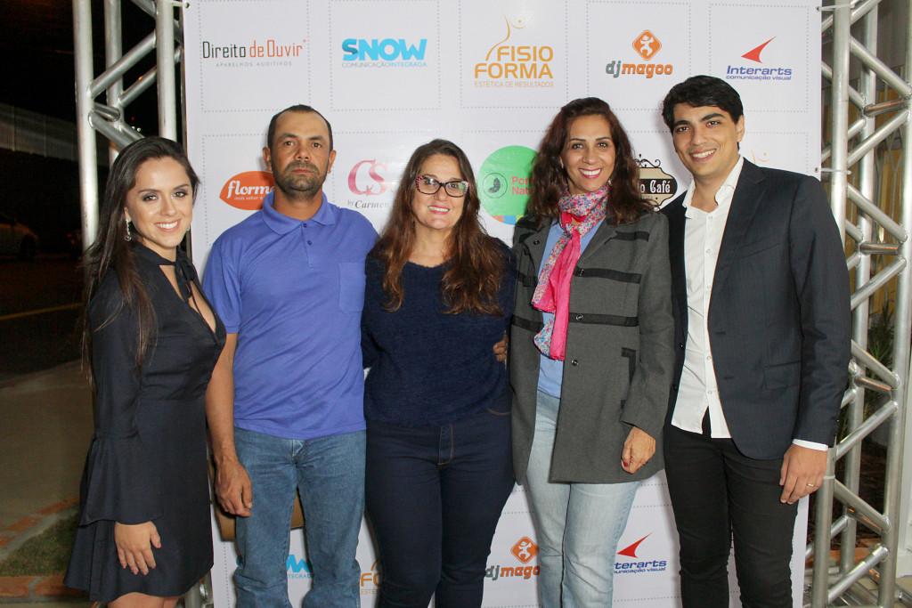 12 Bruna Lamarca, Marlucia Branquinho e esposo, Rosana Branquinho e William Israel