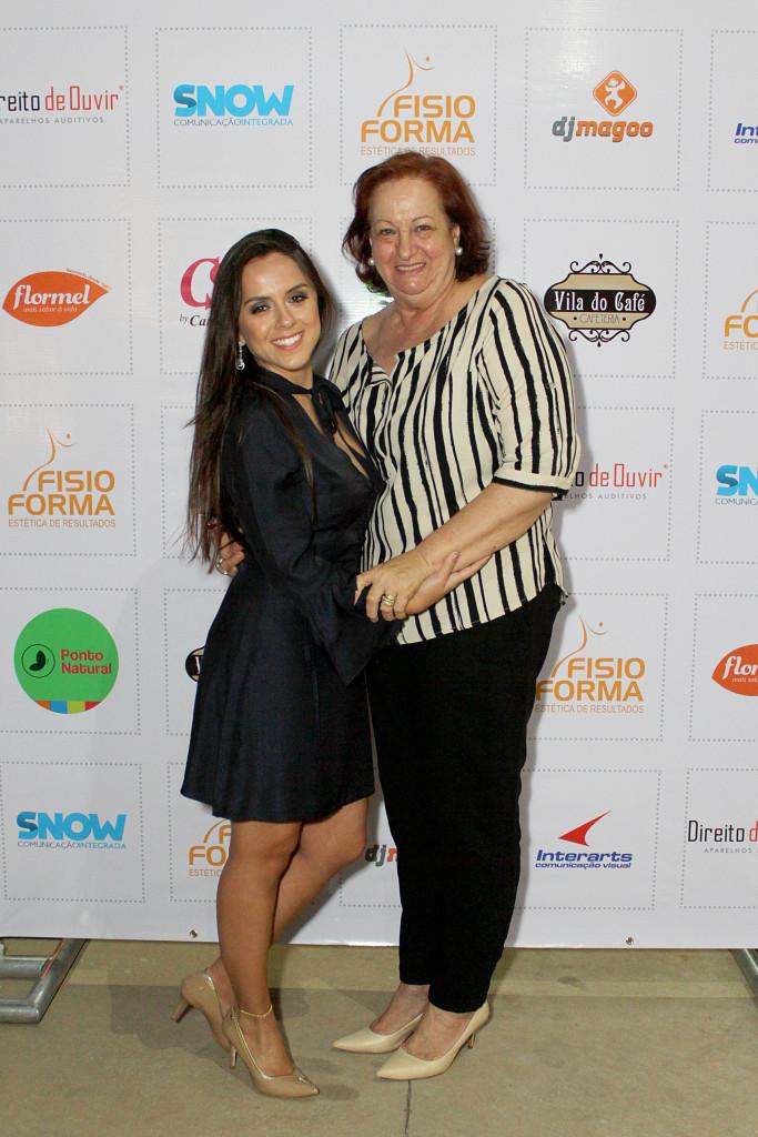9 Bruna Lamarca e a cliente, amiga, Dulce Helena Felício
