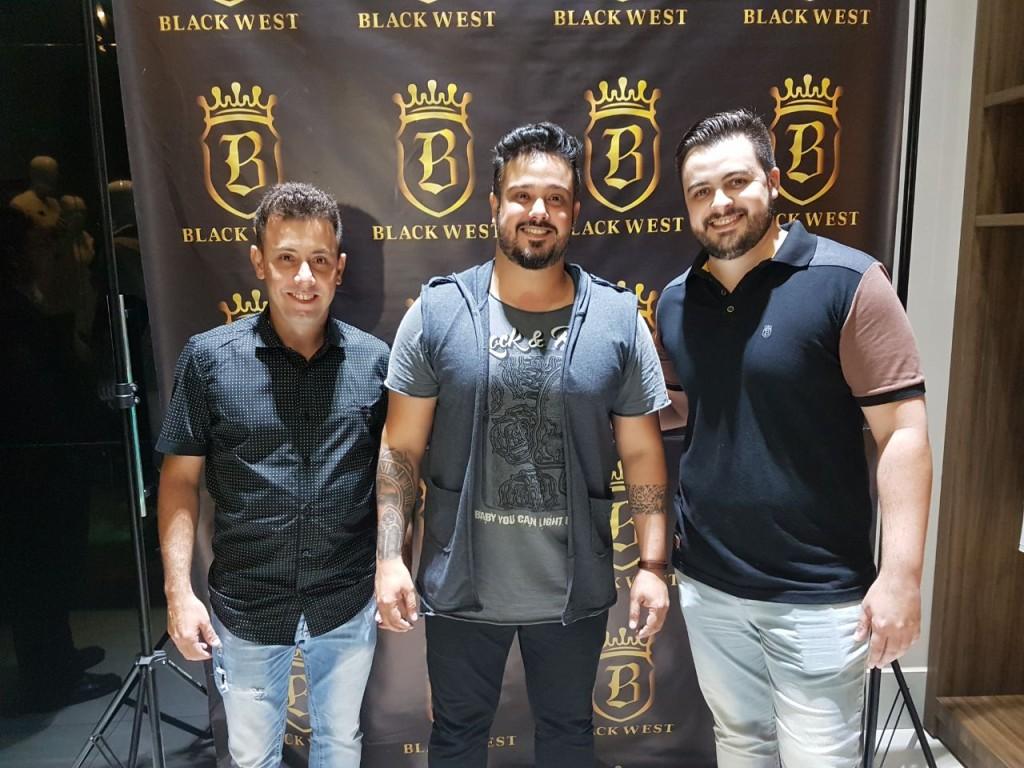 Lúcio Maia, Cairo Peixoto e Danilo Mercuri